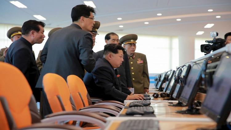 كم موقعا إلكترونيا لدى كوريا الشمالية؟