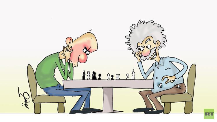 لعبة الشطرنج تتطلب ذكاء عاليا