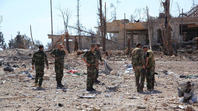 مصادرلـRT: الجيش السوري يطلق عملية عسكرية في الأحياء الشرقية من حلب