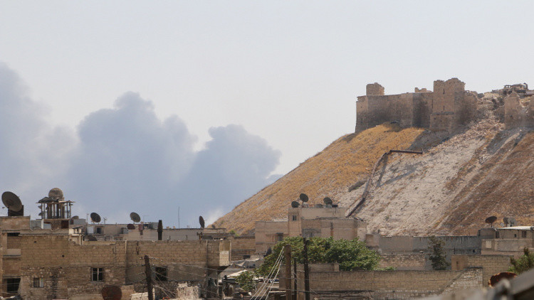 الجيش السوري يتقدم في مخيم حندرات شمال حلب