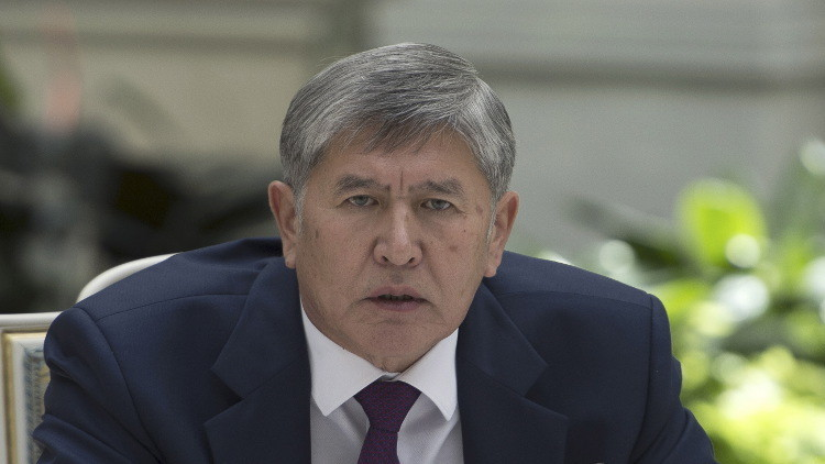 رئيس قرغيزيا يصل إلى موسكو للعلاج
