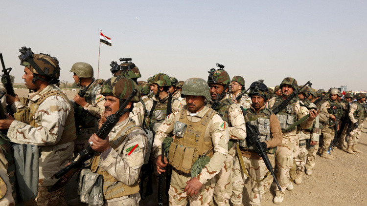 الجيش العراقي يستعيد سيطرته على جزيرة البغدادي