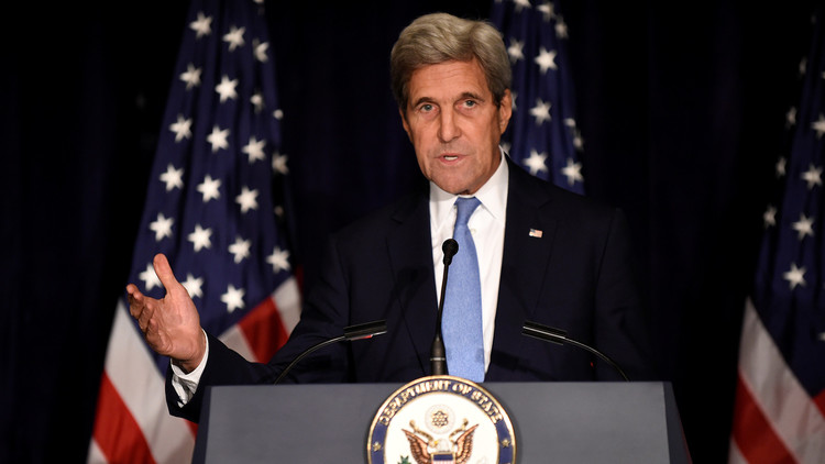 كيري: أحرزنا ولافروف تقدما ضئيلا في المباحثات حول سوريا