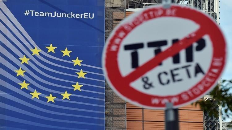 بروكسل: لا أمل في التوصل إلى اتفاقية تبادل حر بوجود أوباما