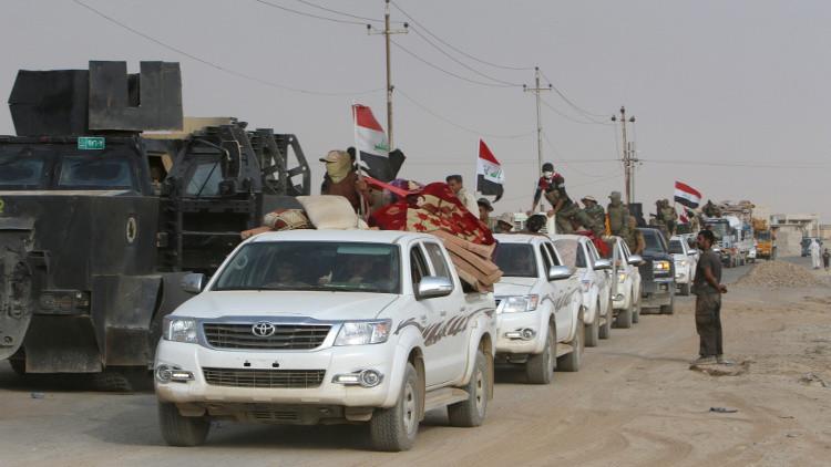 العراق يستعيد مناطق جنوب الشرقاط من