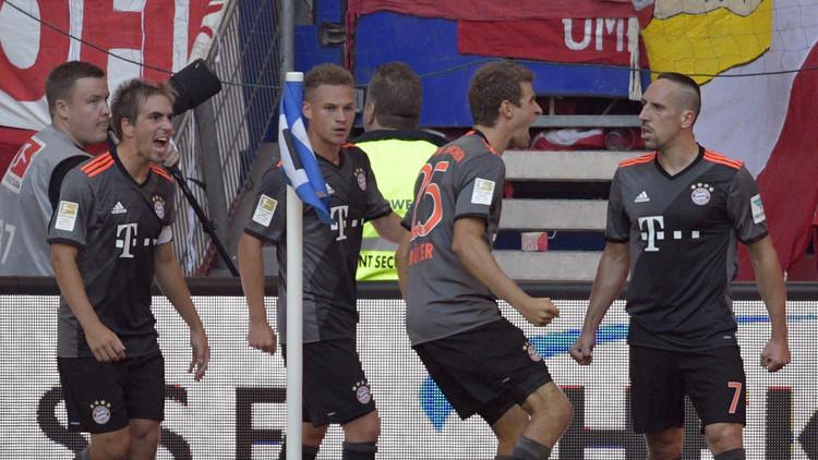 كيميج ينقذ بايرن ميونيخ من كمين هامبورغ
