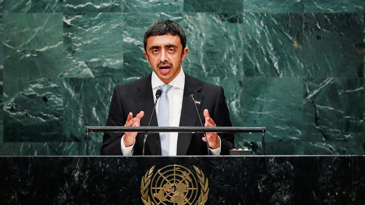 الإمارات: إيران تدفع المنطقة إلى شفا مصيبة