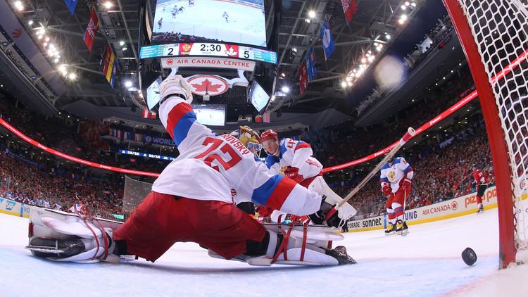 كندا تقصي روسيا من المربع الذهبي لكأس العالم للهوكي