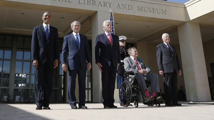 موقع حملة كلينتون: 5 رؤساء أمريكيين لا يدعمون ترامب