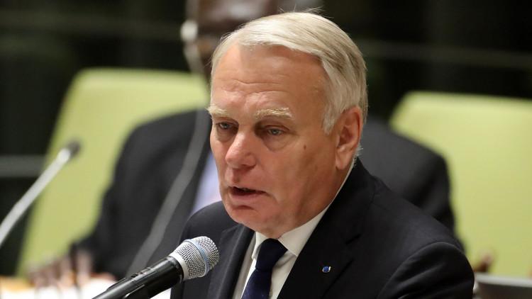وزير الخارجية الفرنسي جان مارك إيرولت