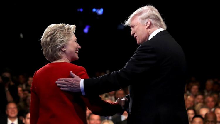 كلينتون مقابل ترامب.. من فاز في المناظرة؟