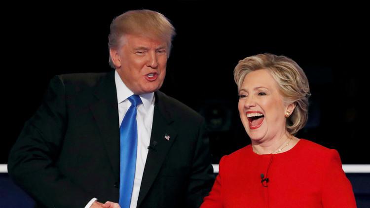 كلينتون وترامب تعهدا بدعم أحدهما الآخر بعد الانتخابات