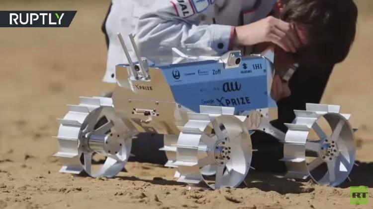روفر ياباني يخضع للاختبار قبل رحلته إلى القمر