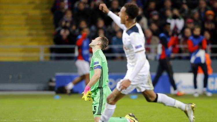 فوز مهم لصالح توتنهام على تسيسكا موسكو في دوري الأبطال