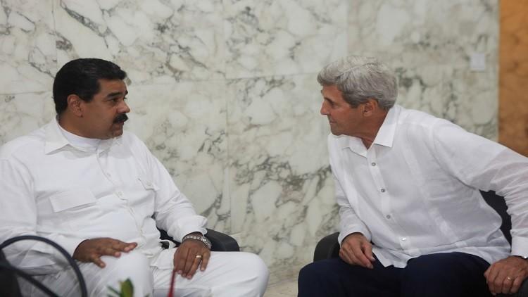 مادورو يدعو إلى عهد جديد من العلاقات مع واشنطن