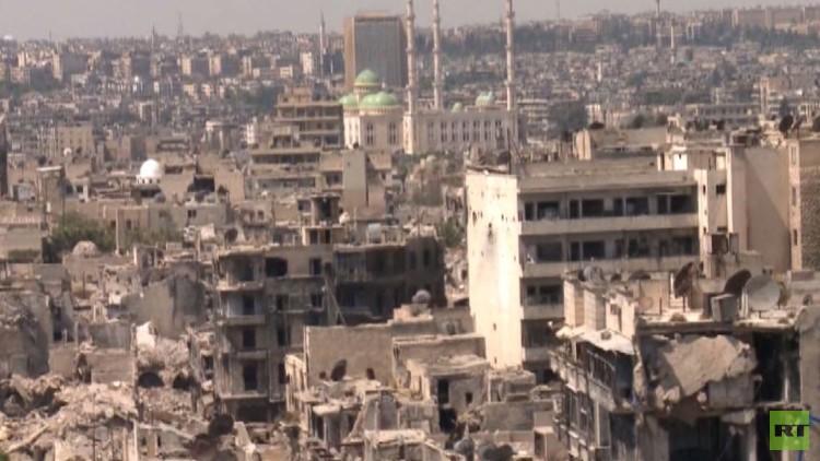 الجيش السوري يواصل التقدم في منطقة حلب القديمة