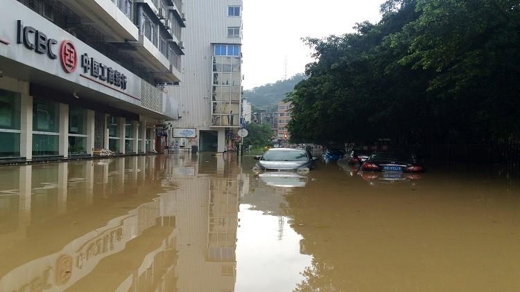 مفقودون بانهيارات أرضية شرقي الصين