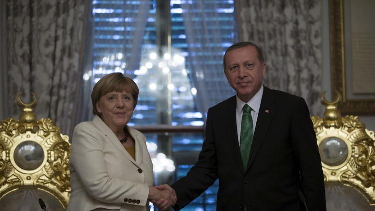 ميركل وأردوغان يدعوان إلى فرض هدنة في سوريا