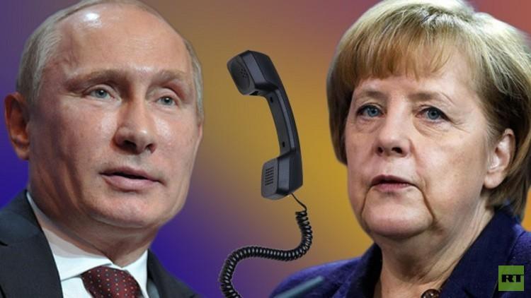الكرملين: بوتين وميركل يؤكدان ضرورة توحيد الجهود لتنفيذ هدنة سوريا