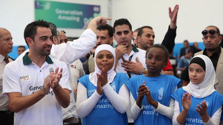 تشافي يزور مخيما للاجئين الفلسطينيين في البقعة