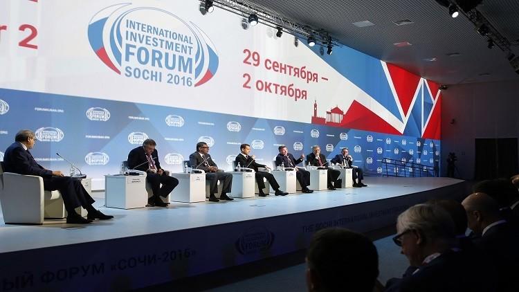 مدفيديف: يجب تحويل الاستقرار السياسي إلى نمو اقتصادي