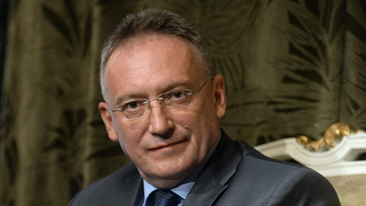 السفير الروسي في دمشق ألكسندر كينشاك (صورة أرشيفية)