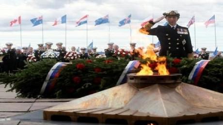 روسيا تكرم محاربين بريطانيين قدامى