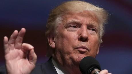 المرشح الجمهوري في الانتخابات الرئاسية الأمريكية دونالد ترامب
