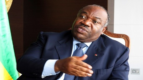 رئيس الغابون - علي بونغو