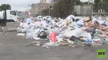 النفايات تعود مجددا إلى شوارع لبنان