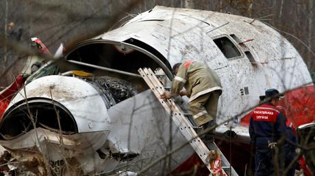 تحطم طائرة الرئيس البولندي في عام 2010