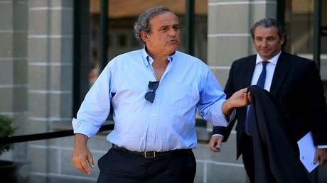 رئيس الاتحاد الأوروبي السابق لكرة القدم ميشال بلاتيني