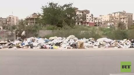 لبنان.. البدء بإزالة النفايات من الشوارع