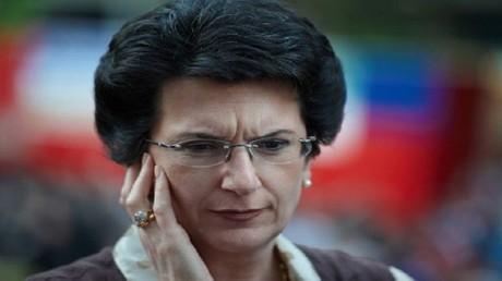 رئيسة برلمان جورجيا السابقة وزعيمة حزب