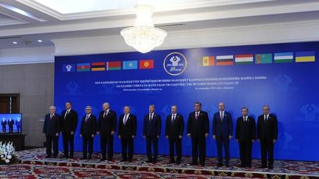 إجتماع زعماء رابطة الدول المستقلة في بيشكيك عاصمة جمهورية قيرغيزيا
