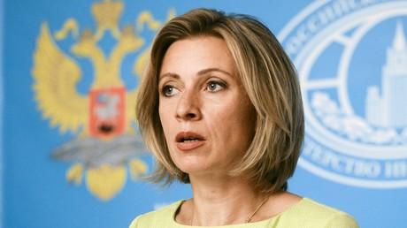 الناطقة باسم الخارجية الروسية ماريا زاخاروفا