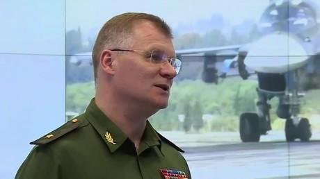 إيغور كوناشينكوف الناطق الرسمي باسم وزارة الدفاع الروسية