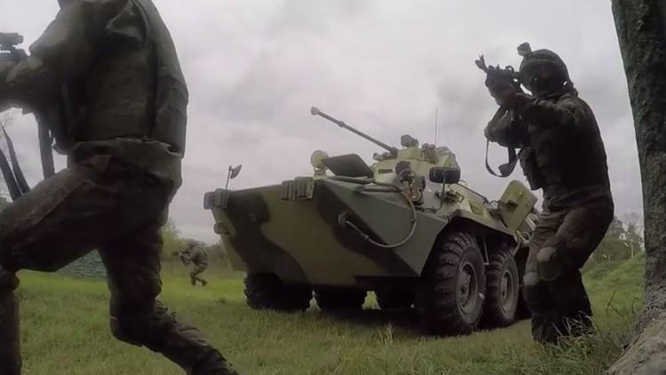 أجمل اللقطات لنشاطات القوات البرية الروسية في عيدها