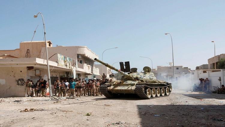 مقتل 8 عناصر من قوات حكومة الوفاق في سرت