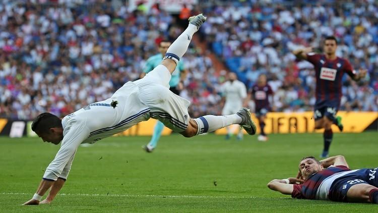 ريال مدريد يتعثر أمام إيبار في الليغا !