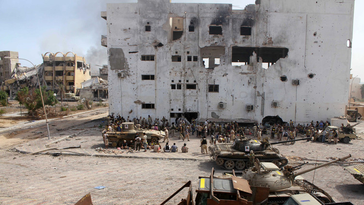 مقتل صحفي هولندي في سرت الليبية