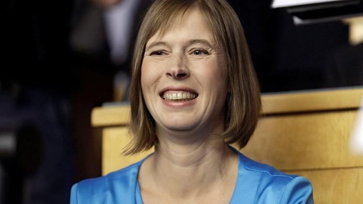 انتخاب سيدة رئيسة لإستونيا في سابقة تاريخية