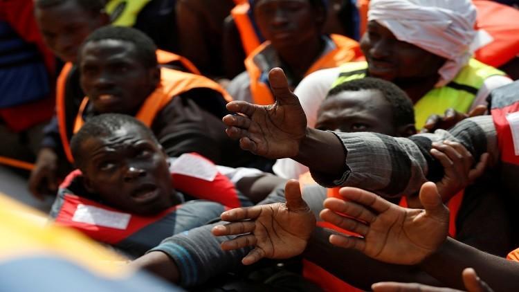 خفر السواحل: إنقاذ 6 آلاف مهاجر قبالة ليبيا