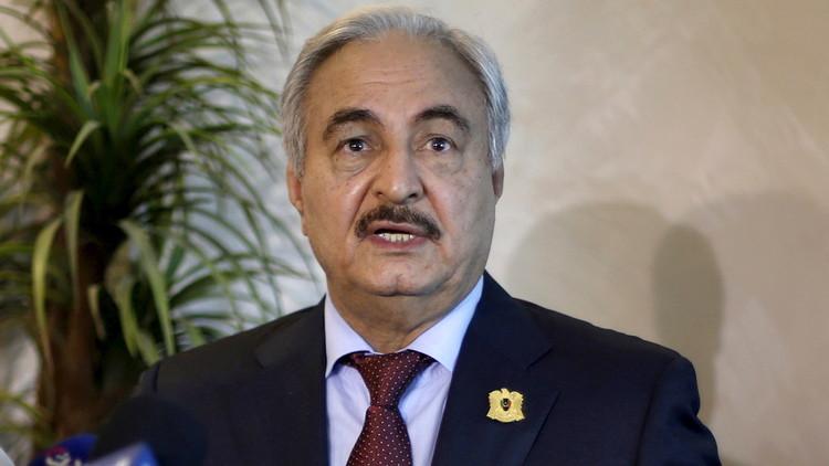 ليبيا: اجتماع باريس يدعو إلى إشراك حفتر في الحكومة المقبلة