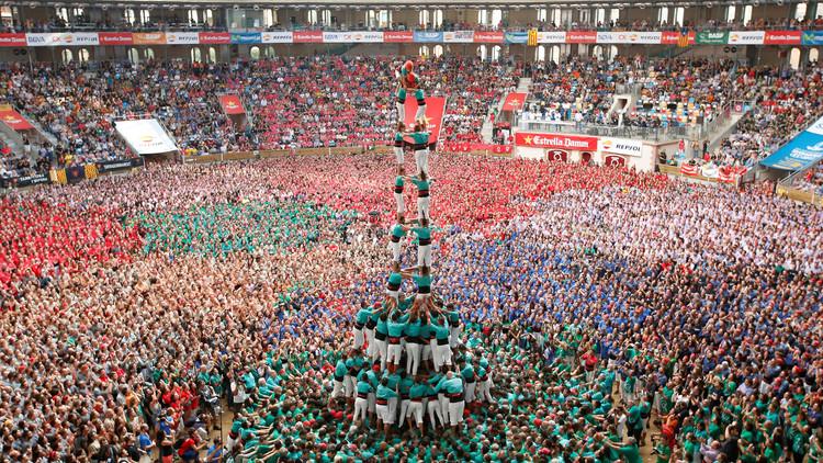صور رائعة لأبراج بشرية في كاتالونيا الإسبانية