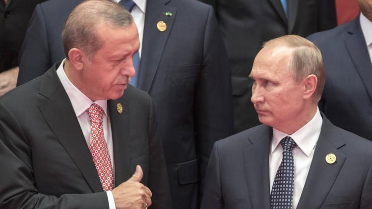 بوتين يلتقي أردوغان الاثنين المقبل في إسطنبول