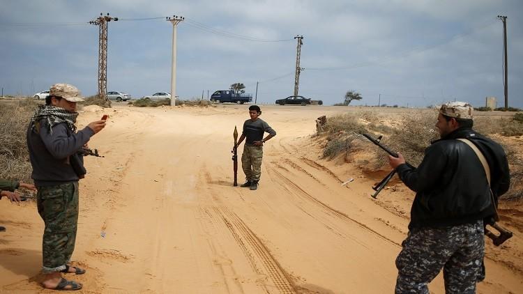 القوات الليبية تحاصر