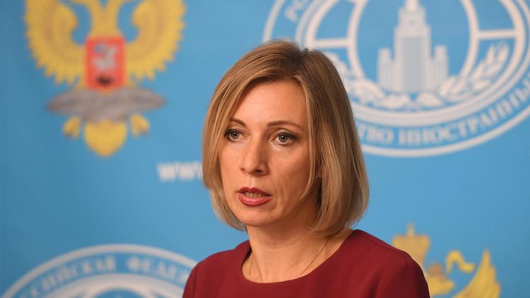 زاخاروفا: مفاوضاتنا مع واشنطن حول سوريا لم تكن لعبة