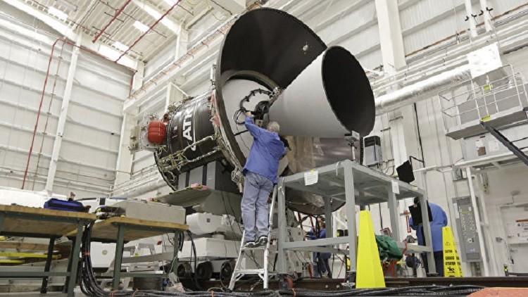 تحديد موعد لإطلاق صاروخ أمريكي مزود بمحرك روسي