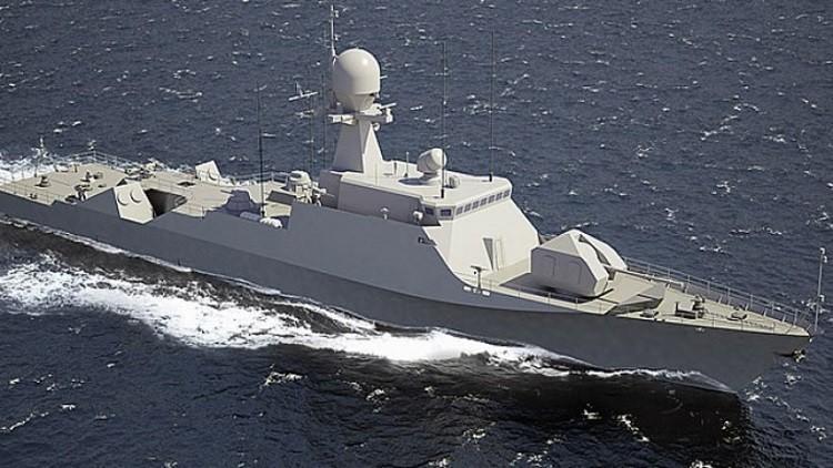 إبحار سفينتين صاروخيتين روسيتين إلى البحر المتوسط